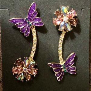 Topsy Turvey Whimsical Earrings